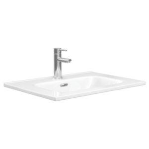 JOLI 600 Ceramic Basin-Top / 1 Tap hole - image JOL60-600x600-300x300 on https://portellihomecentre.com.au