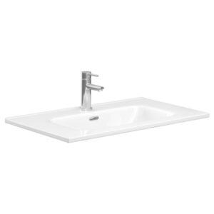 JOLI 600 Ceramic Basin-Top / 1 Tap hole - image JOL75-600x600-300x300 on https://portellihomecentre.com.au