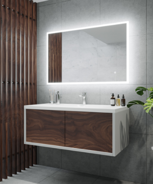 GATSBY LED Wall Mirror RGA45 / 450 x 900 - image KARA-300x361 on https://portellihomecentre.com.au