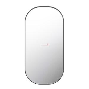 Square Mirror 900x600x35mm - BLACK FRAME - image MI-1000-500-BLK-300x300 on https://portellihomecentre.com.au