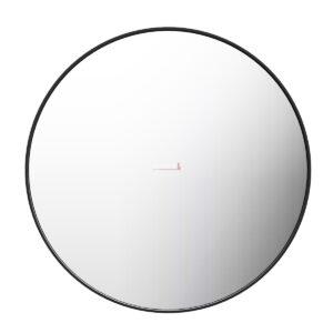 Square Mirror 900x600x35mm - BLACK FRAME - image MI-700-R-BLK-300x300 on https://portellihomecentre.com.au