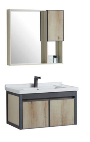 CASERTA Vanity, Basin & Shaving Cabinet Set 600mm – ACBA-2006-60 - image PRATO-800-300x469 on https://portellihomecentre.com.au
