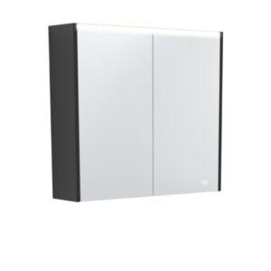AMBER LED Shaving Cabinet RSCAM75 / 750x700 ( 4 Size options ) - image PSC750B-LED-600x600-300x300 on https://portellihomecentre.com.au