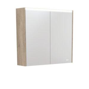 AMBER LED Shaving Cabinet RSCAM75 / 750x700 ( 4 Size options ) - image PSC750S-LED-600x600-300x300 on https://portellihomecentre.com.au