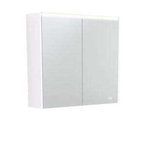AMBER LED Shaving Cabinet RSCAM75 / 750x700 ( 4 Size options ) - image PSC750W-LED-600x600-300x300 on https://portellihomecentre.com.au