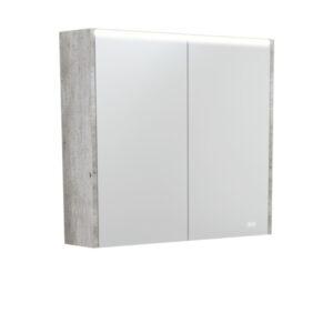 AMBER LED Shaving Cabinet RSCAM75 / 750x700 ( 4 Size options ) - image PSC750X-LED-600x600-300x300 on https://portellihomecentre.com.au