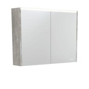 AMBER LED Shaving Cabinet RSCAM75 / 750x700 ( 4 Size options ) - image PSC900X-LED-600x600-300x300 on https://portellihomecentre.com.au