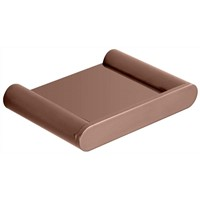 Sleek Shelf (Rose Gold)  / SLBA7 (RG) - image SLBA6-RG-Sleek-Soap-Dish-Rose-Gold on https://portellihomecentre.com.au