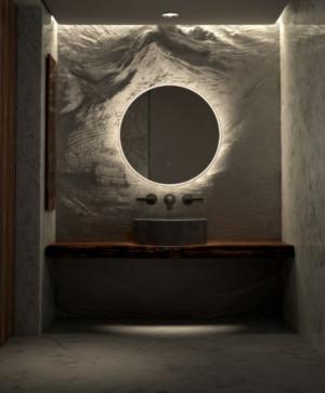 GATSBY LED Wall Mirror RGA45 / 450 x 900 - image SPHERE-STANDARD-300x363 on https://portellihomecentre.com.au
