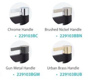 Sansa Basin Mixer, Matte Black 229103 (4 Colour Options) - image 229103-x-4-1-300x266 on https://portellihomecentre.com.au