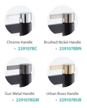 Sansa Basin Mixer, Matte Black 229103 (4 Colour Options) - image 229107-x-4-1-300x372 on https://portellihomecentre.com.au
