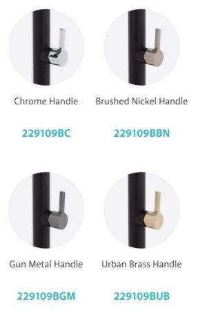 Sansa Basin Mixer, Matte Black 229103 (4 Colour Options) - image 229109-x-4-300x456 on https://portellihomecentre.com.au