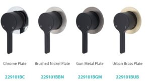 Sansa Basin Mixer, Matte Black 229103 (4 Colour Options) - image 29101-x-4-300x167 on https://portellihomecentre.com.au