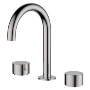 Kaya Basin Tap Set, Brushed Nickel 338101BN - image 338101BN-600x600-300x300 on https://portellihomecentre.com.au