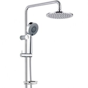 Michelle Multifunction Rail Shower with Soap Dish 444104 - image 455101-600x600-300x300 on https://portellihomecentre.com.au