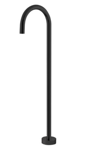 Hustle Matte Black Floor Mounted Bath Outlet SP8016MB - image Hustle-SP8016MB-300x511 on https://portellihomecentre.com.au