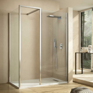Kubix Door 900×900 KUD90C Chrome ( 7 Size Options) & (2 colour Options) - image Kubix-Shower-Panel-Options-300x300 on https://portellihomecentre.com.au