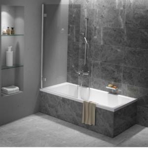 Kubix Door 900×900 KUD90C Chrome ( 7 Size Options) & (2 colour Options) - image Urban-Bath-Panel2-300x300 on https://portellihomecentre.com.au