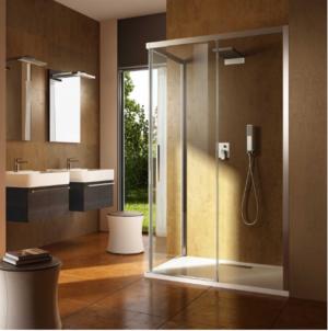 Kubix Door 900×900 KUD90C Chrome ( 7 Size Options) & (2 colour Options) - image Urban-Slider-300x302 on https://portellihomecentre.com.au