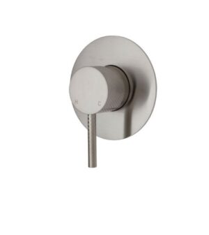 Axle Basin Mixer, Brushed Nickel231103BN - image 231101BN-3-300x337 on https://portellihomecentre.com.au