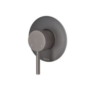 Axle Basin Mixer, Gun Metal231103GM - image 231101GM-3-300x331 on https://portellihomecentre.com.au