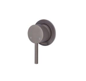 Axle Basin Mixer, Gun Metal231103GM - image 231101GM-300x285 on https://portellihomecentre.com.au