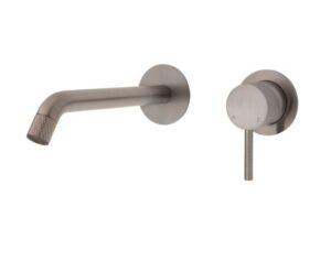 Axle Basin Mixer, Brushed Nickel231103BN - image 231104BN-200-300x237 on https://portellihomecentre.com.au