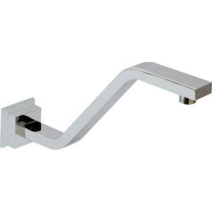 Square Matte Black Ceiling Dropper, 2 Lengths available 422115 - image 422108-300x300 on https://portellihomecentre.com.au