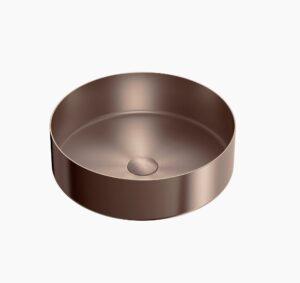 OPAL STAINLESS STEEL BASIN – Brushed Nickel B400rBN - image B400sBZ-300x283 on https://portellihomecentre.com.au